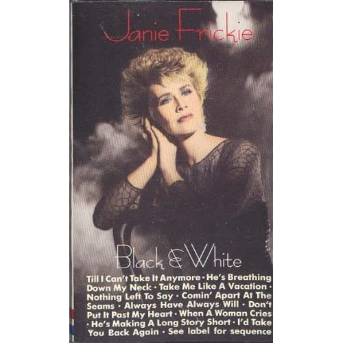 Image 0 of Black And White By Janie Frickie On Audio Cassette