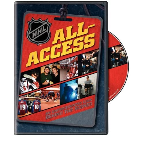 Image 0 of NHL All-Access 2008 On DVD With Rick Dipietro Hockey