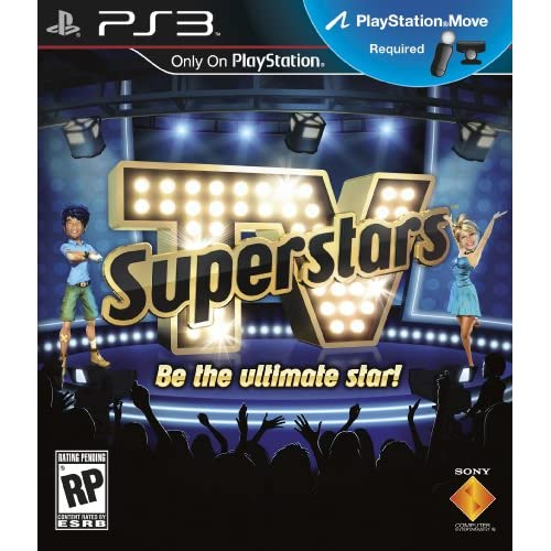 TV Superstars For PlayStation 3 PS3 Music With Manual And Case