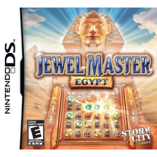 Image 0 of Jewel Master Egypt For Nintendo DS DSi 3DS 2DS Puzzle