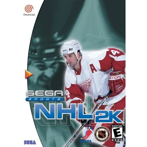NHL 2K For Sega Dreamcast Hockey With Manual and Case