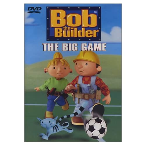 Image 0 of Bob The Builder The Big Game By Keith Chapman Writer On DVD with Rob Rackstraw A
