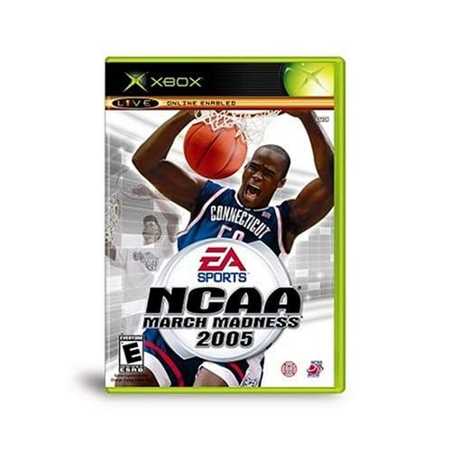 NCAA March Madness 2005 Xbox For Xbox Original Basketball With Manual