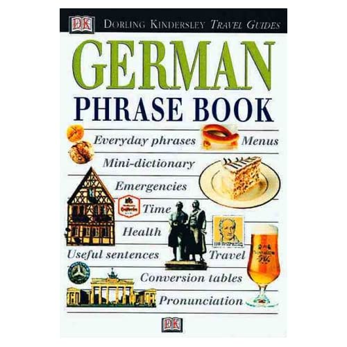 Image 0 of Eyewitness Phrase Book: German With Cassette By DK Publishing And DK Travel Writ