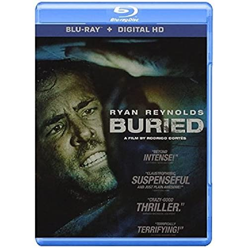 Image 0 of Buried Blu-Ray On Blu-Ray With Ryan Reynolds Horror