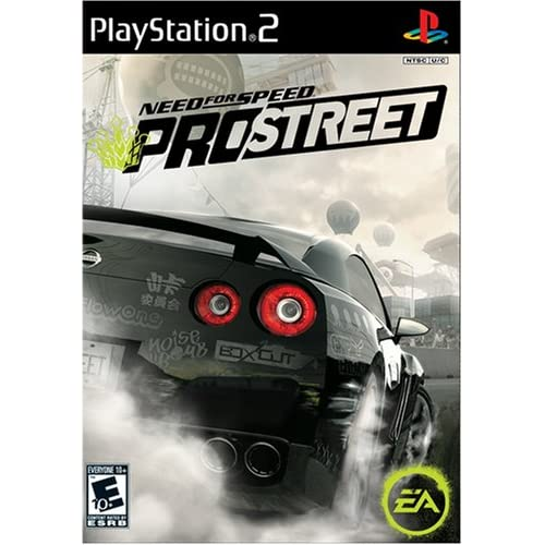 Need For Speed: Prostreet For PlayStation 2 PS2 Racing With Manual and