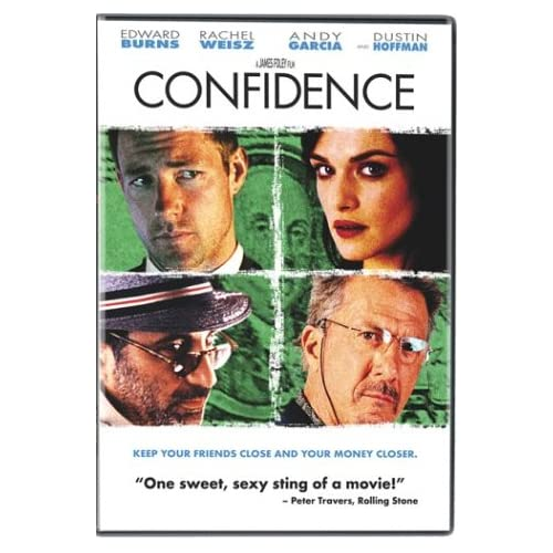 Image 0 of Confidence On DVD With Edward Burns Mystery