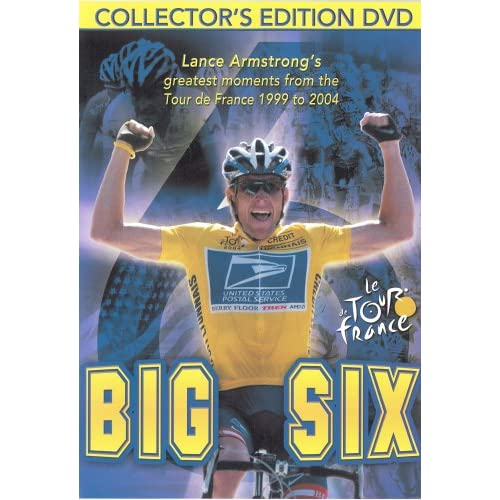 Image 0 of Big Six Lance Armstrong's Greatest Moments Of The Tour De France On DVD With Mar