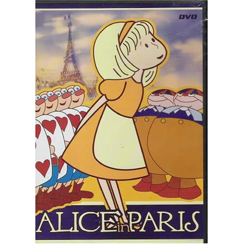 Image 0 of Alice In Paris Slim Case On DVD with Luce Ennis