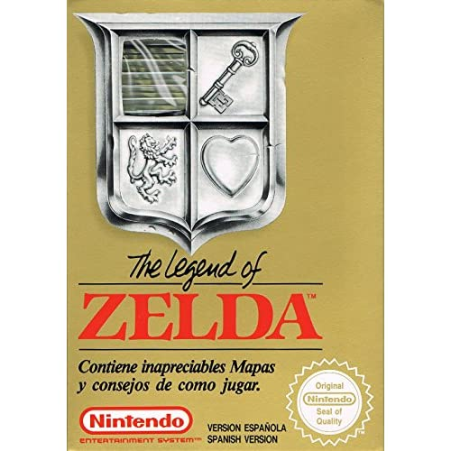 Image 0 of The Legend Of Zelda For Nintendo NES Vintage RPG