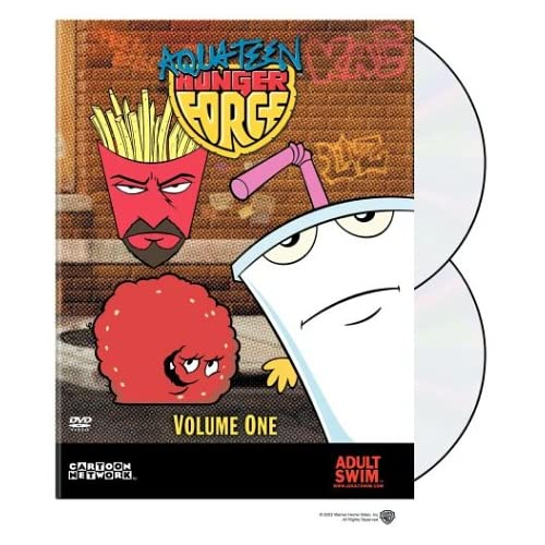 Image 0 of Aqua Teen Hunger Force Volume One On DVD With Schooly D Anime