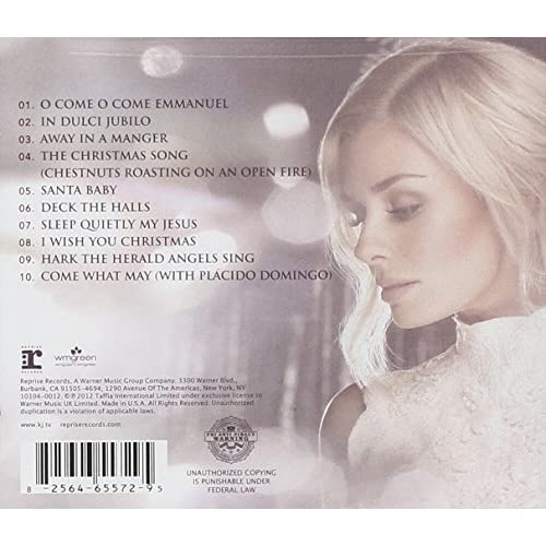 Image 1 of This Is Christmas By Katherine Jenkins Album Holiday 2012 On Audio CD