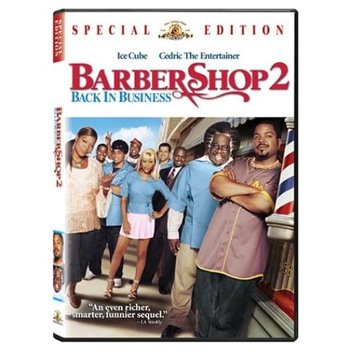 Image 0 of Barbershop 2: Back In Business Special Edition On DVD With Ice Cube Comedy