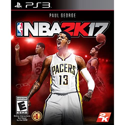 Image 0 of NBA 2K17 Standard Edition For PlayStation 3 PS3 Basketball