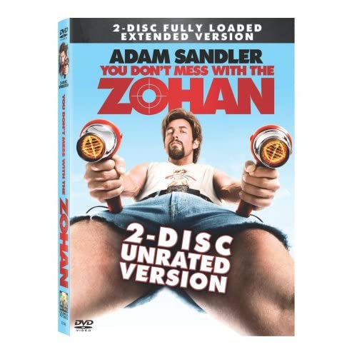 Image 0 of You Don't Mess With The Zohan Unrated Two-Disc Edition On DVD With Rob