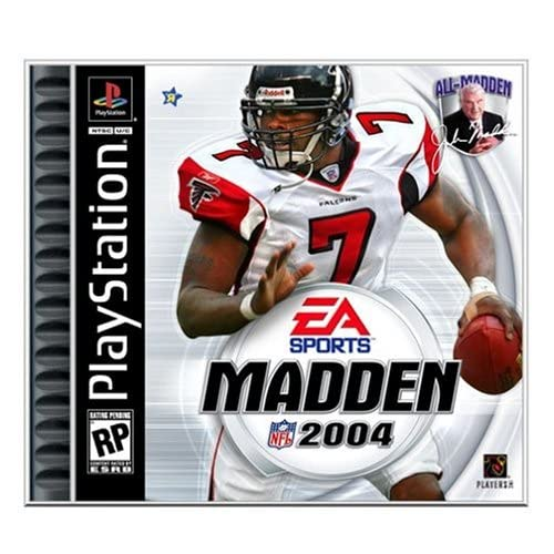 Madden NFL 2004 For PlayStation 1 PS1 Football With Manual and Case