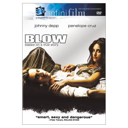 Image 0 of Blow On DVD with Johnny Depp Drama