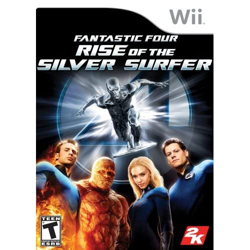 Image 0 of Fantastic Four: Rise Of The Silver Surfer For Wii