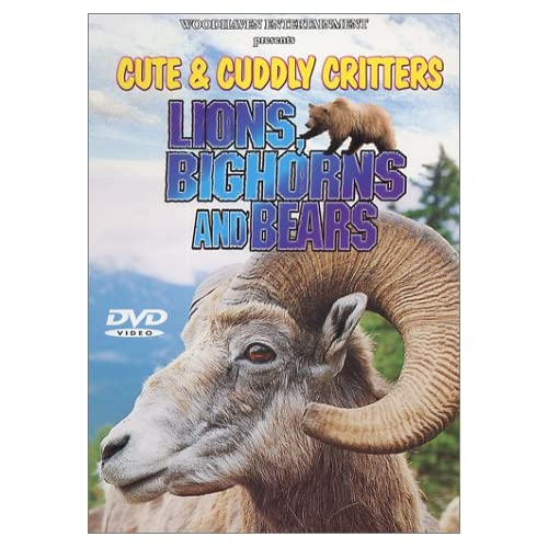 Image 0 of Cute & Cuddly Critters: Lions Bighorns And Bears On DVD