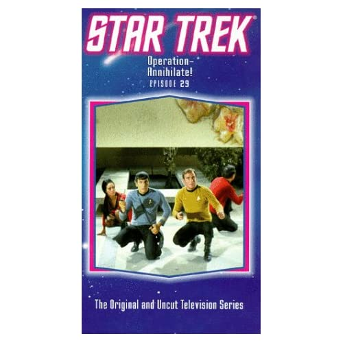 Image 0 of Star Trek The Original Series Episode 29: Operation-Annihilate! On VHS With Will