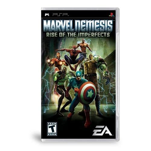 Image 0 of Marvel Nemesis Rise Of The Imperfects Sony For PSP UMD