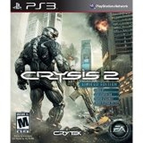 Crysis 2 Limited Edition For PlayStation 3 PS3 Shooter