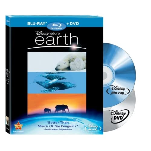Disneynature: Earth Blu-Ray / DVD Combo On Blu-Ray With James Earl Jones