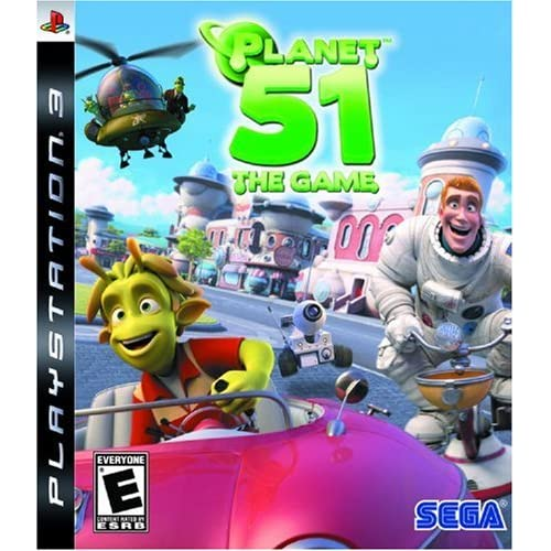 Planet 51 For PlayStation 3 PS3