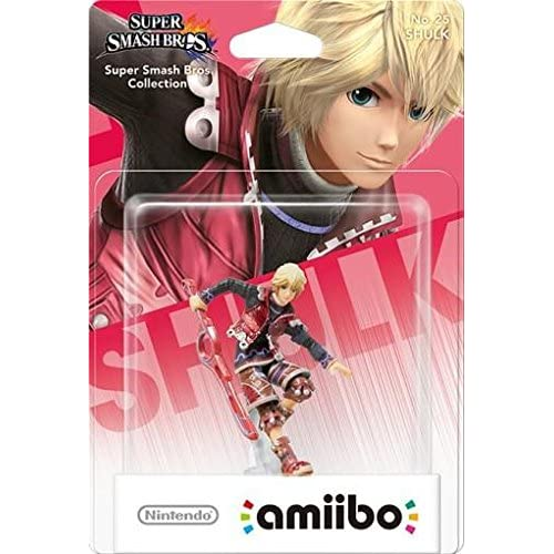 Image 0 of Shulk Amiibo Super Smash Bros Series Figure Character