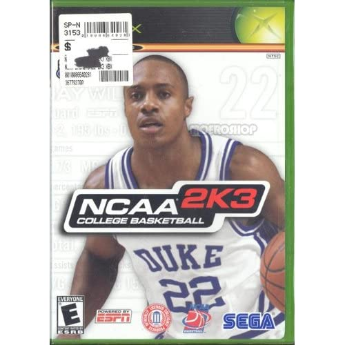 Image 0 of Sega Sports: NCAA College Basketball 2K3 For Xbox Original