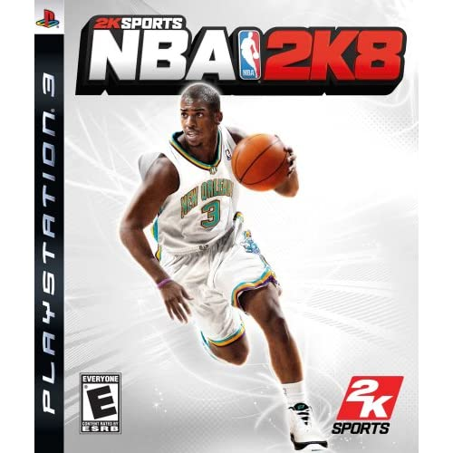 NBA 2K8 For PlayStation 3 PS3 Basketball