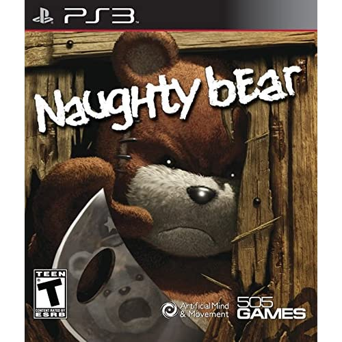 Naughty Bear For PlayStation 3 PS3