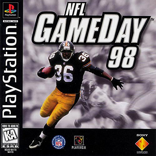 Image 0 of NFL Gameday 98 For PlayStation 1 PS1 Football