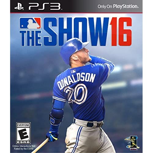 MLB The Show 16 For PlayStation 3 PS3 Baseball