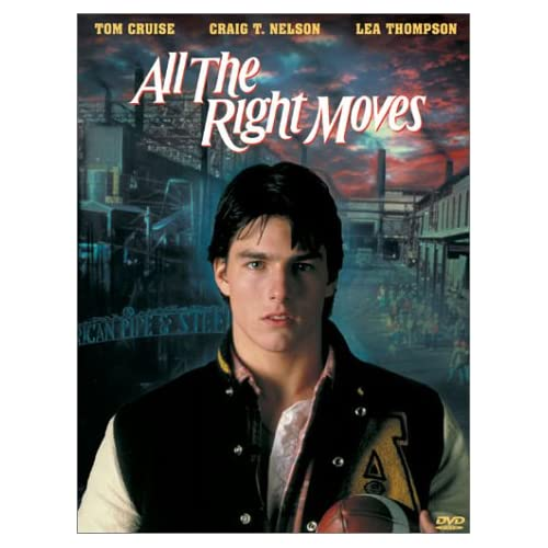 Image 0 of All The Right Moves On DVD With Tom Cruise