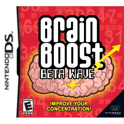 Image 0 of Brain Boost: Beta Wave For Nintendo DS DSi 3DS 2DS Puzzle Games