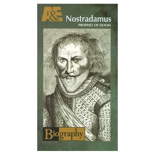 Image 0 of Biography Nostradamus: Prophet Of Doom VHS By Biography On Audio Cassette