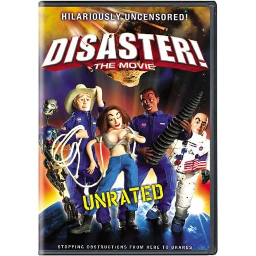Image 0 of Disaster! The Movie With Unrated Shorts On DVD with Jim Cummings Comedy