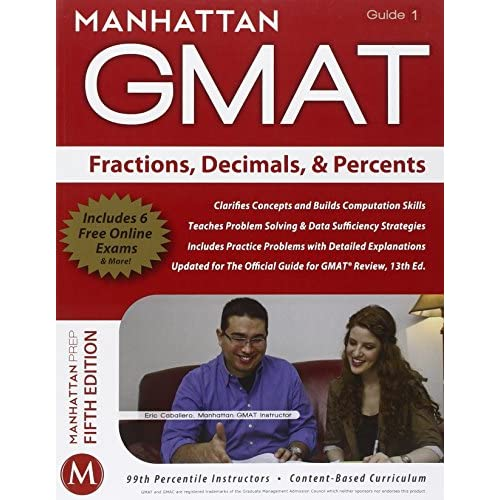 Fractions Decimals & Percents GMAT Strategy Guide Manhattan GMATal