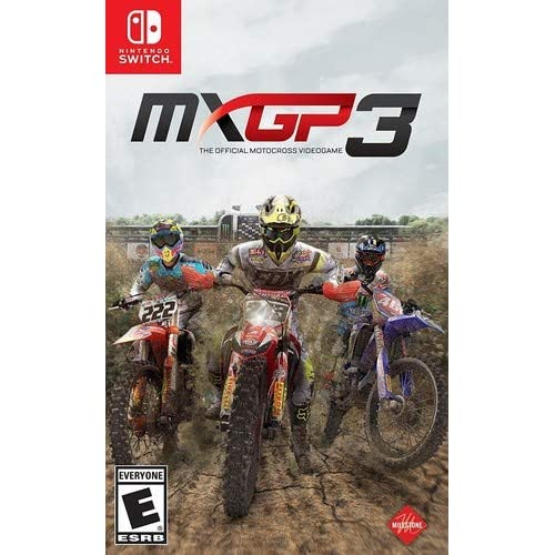 Mxgp 3: The Official Motocross Videogame For Nintendo Switch Racing