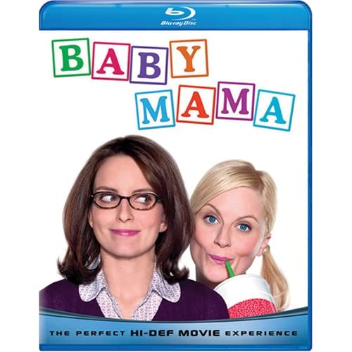 Baby Mama Blu-Ray On Blu-Ray With Tina Fey