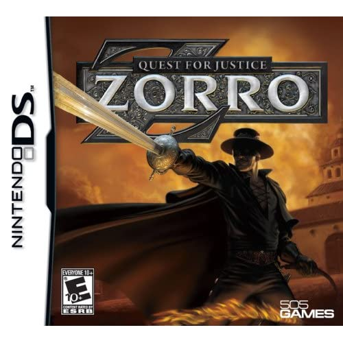 Image 0 of Zorro Quest For Justice For Nintendo DS DSi 3DS 2DS