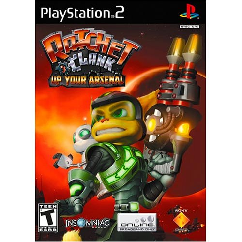Image 0 of Ratchet And Clank Up Your Arsenal For PlayStation 2 PS2