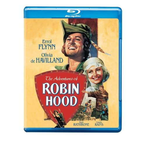 Image 0 of The Adventures Of Robin Hood Blu-Ray On Blu-Ray With Errol Flynn