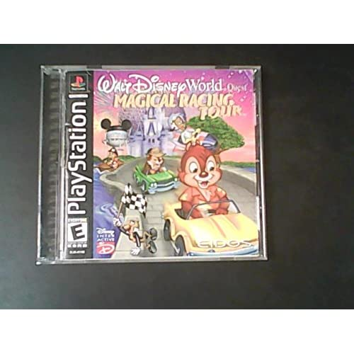 Image 0 of Walt Disney World Quest: Magical Racing Tour PlayStation 2000 For PlayStation 1