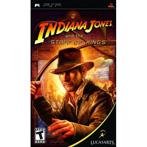 Image 0 of Indiana Jones And The Staff Of Kings Sony For PSP UMD