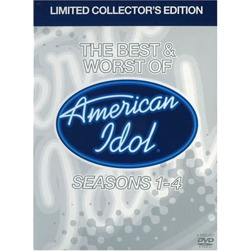 Image 0 of American Idol The Best And Worst Of American Idol Limited Edition On DVD With Ry