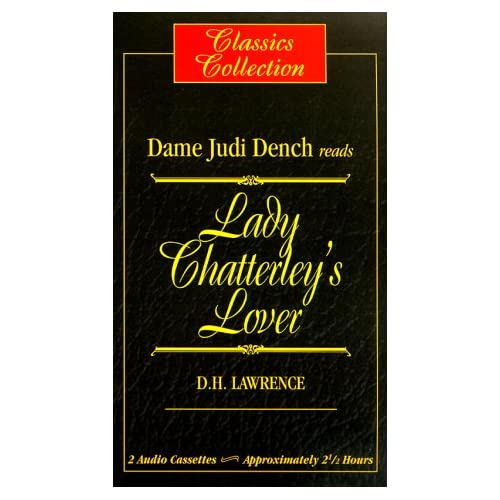Image 0 of Lady Chatterley's Lover By Lawrence D H Dench Dame Judith Narrator On