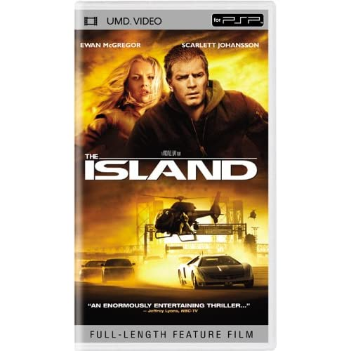 The Island UMD For PSP
