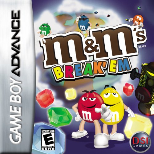 Image 0 of M&m's Break 'Em For GBA Gameboy Advance